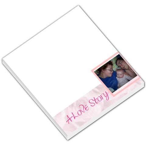 Love By Natasha Hughes   Small Memo Pads   0q38b5so0m55   Www Artscow Com