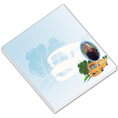 Backtoschoolty By Mary Cloud   Small Memo Pads   P3k791f2qant   Www Artscow Com
