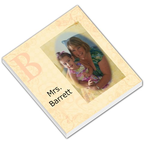 Lauren And Mommy Memo3 By Caroline Barrett   Small Memo Pads   1k8ikzp4ygza   Www Artscow Com