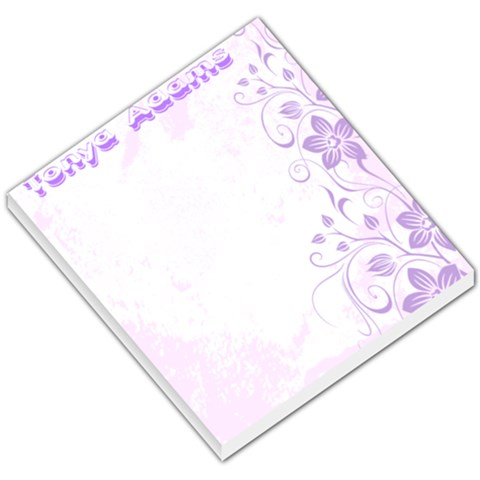 notepad by Tonya Adams