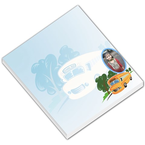 Backtoschool001 Memopad Small By Shirin   Small Memo Pads   0rl4loilxesq   Www Artscow Com