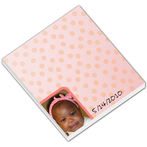 Pink Theme By Tonia Brown   Small Memo Pads   809okfmb35lz   Www Artscow Com