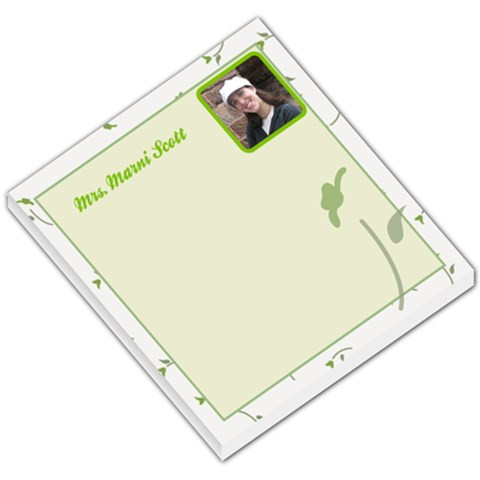 Memo Pad By Marnina Scott   Small Memo Pads   6fcsb0cs1vjd   Www Artscow Com
