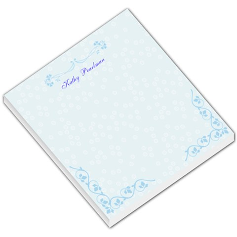 Blue By Kathleen Pearlman   Small Memo Pads   5bhzt4begcx7   Www Artscow Com