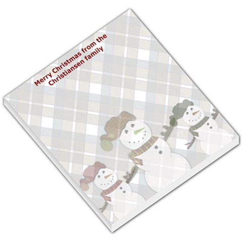 Neighbor Gifts For Christmas By Danielle Christiansen   Small Memo Pads   A3zo1gvgkppp   Www Artscow Com