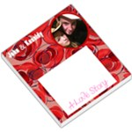 me and kassidy - Small Memo Pads