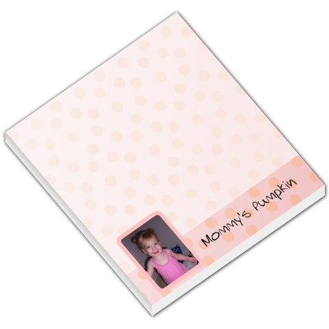 Pink Theme By Jessica Lauren Forte Holland   Small Memo Pads   Jjovrpp52931   Www Artscow Com
