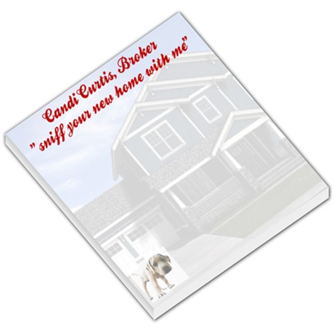 Memo Pad By Candi Curtis   Small Memo Pads   V06rft3w60ff   Www Artscow Com