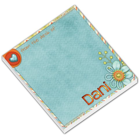 Notepad Shenanigans By Danielle Hotaling   Small Memo Pads   Igzd07mo6xt8   Www Artscow Com