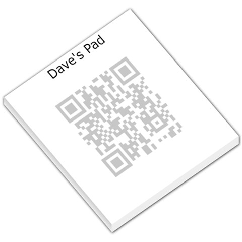 Pad By Dave Steven Cunio   Small Memo Pads   B5lxm9olrhho   Www Artscow Com