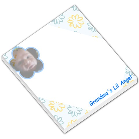 Grandma s Lil Angel 2010 By Kathy Fisher Bailey   Small Memo Pads   6eh50a7bn0h6   Www Artscow Com