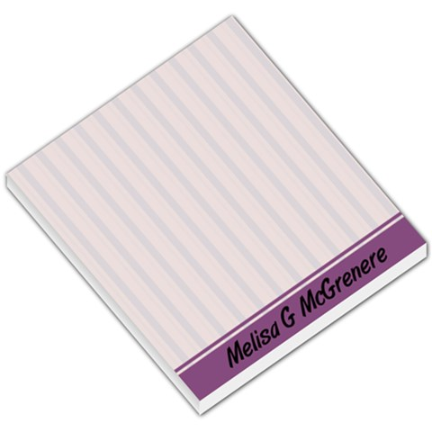 Purple Line Background By Lisa Mcgrenere   Small Memo Pads   S7j9ta0gzxzs   Www Artscow Com