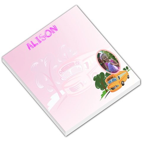 Free Free! Alison Can t Wait For Hers  By Cari   Small Memo Pads   Xsrdu6pnte21   Www Artscow Com