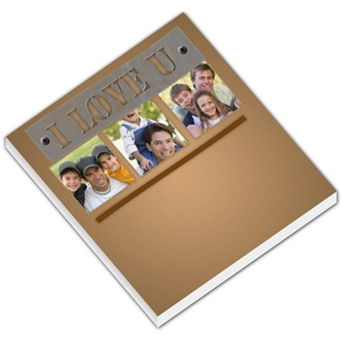 Happy Family  By Joely   Small Memo Pads   Xsygmqo8w6ao   Www Artscow Com