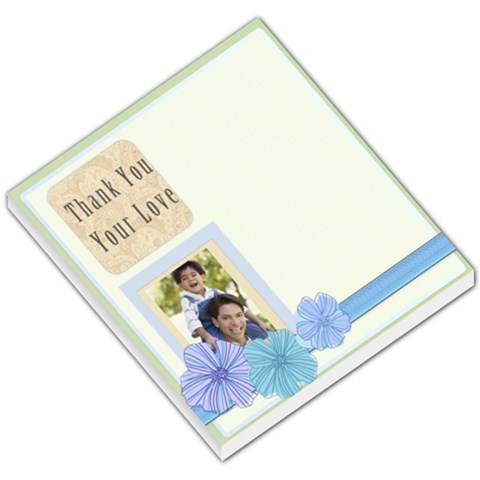 Thank You Your Love By Joely   Small Memo Pads   Wvrxhz7d6ufm   Www Artscow Com