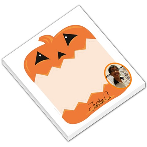 Helloween001 By Justin Chia   Small Memo Pads   8vem7wv4jk66   Www Artscow Com