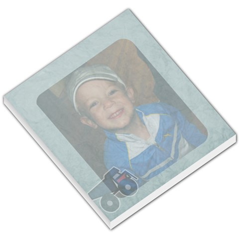 Hunter Boy Note Pad By Amanda   Small Memo Pads   L4bu6aznex8h   Www Artscow Com