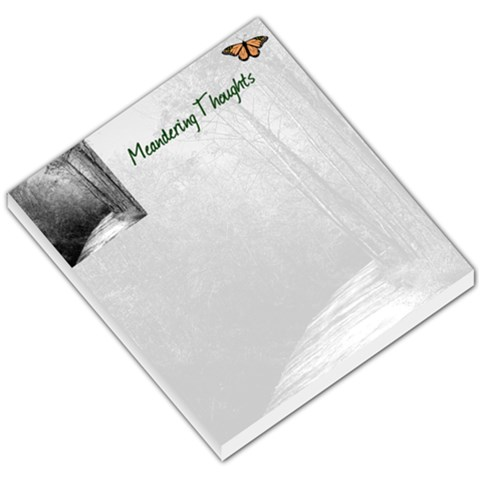 Meandering Thoughts Notepad By Bill Lansing   Small Memo Pads   0gnbffjcoplq   Www Artscow Com