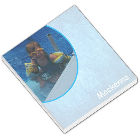 Mackenna By Kristina Johnson   Small Memo Pads   Sgecf916r2oi   Www Artscow Com