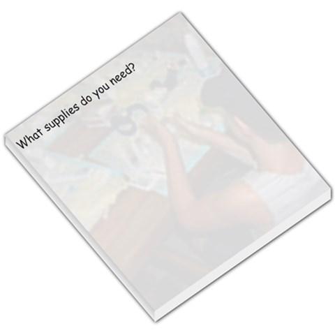 Supply List By Frances Melichar   Small Memo Pads   L2i3p13c1j42   Www Artscow Com