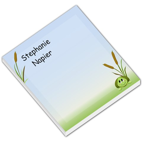 Shion Turtle By Stephanie Swagert Napier   Small Memo Pads   Rww9fyefp8ly   Www Artscow Com