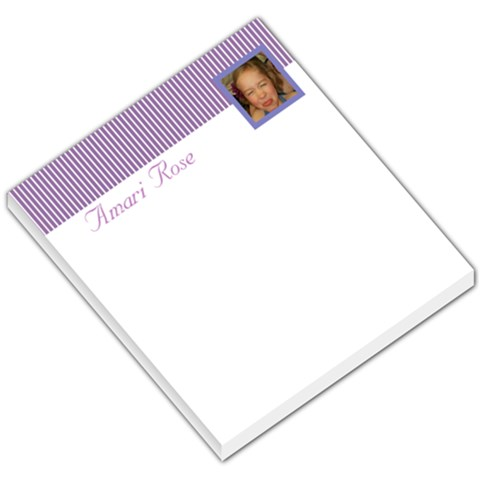 Amari By Amy Junkins   Small Memo Pads   T411q4cpk7yn   Www Artscow Com