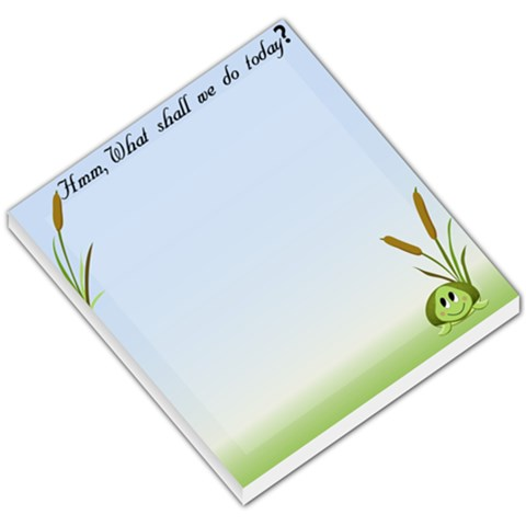 Shion Turtle By Angela Steele   Small Memo Pads   Zbcb8schxl5e   Www Artscow Com