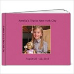 Amelia goes to NYC - 9x7 Photo Book (20 pages)