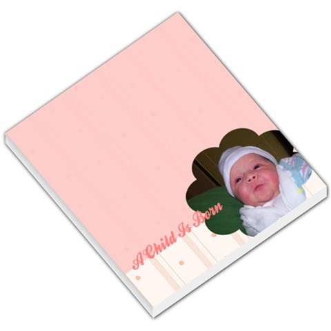 Baby Memo Pad By Denise Cunningham   Small Memo Pads   B39x52of1vq9   Www Artscow Com