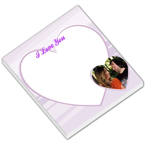 Teri & Brian By Teri Beegle Barefoot   Small Memo Pads   28ajfnkl1tp8   Www Artscow Com