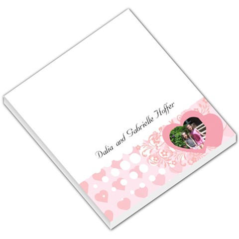 Free Note Pad By Jennifer Hoffer   Small Memo Pads   0qeihw76y948   Www Artscow Com