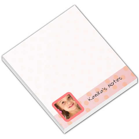 Kanika Post It By Amy Marcoux   Small Memo Pads   Gbw61ax0f87f   Www Artscow Com
