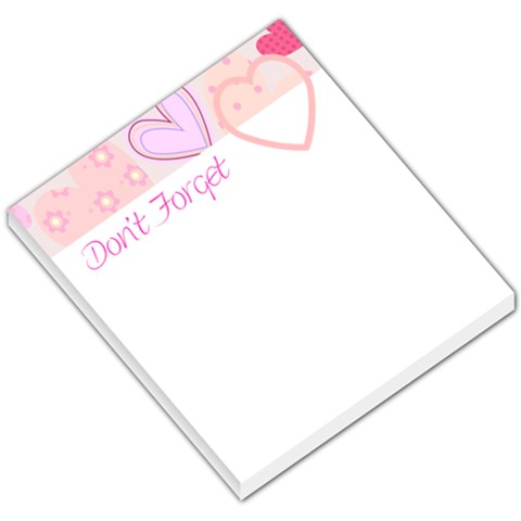 Love005 By Chellsey Campbell   Small Memo Pads   S5vsc924pl4n   Www Artscow Com