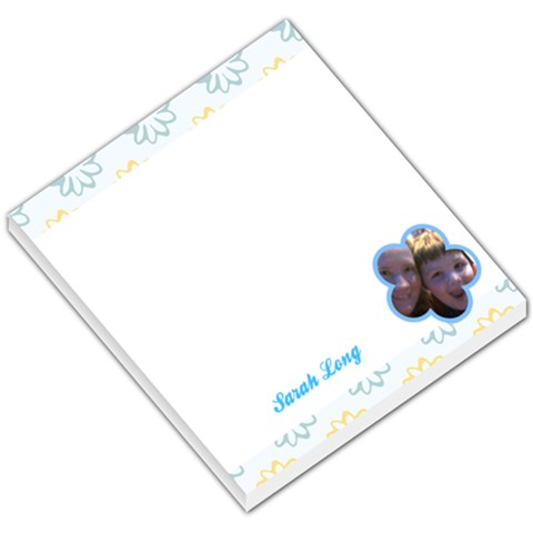 Flower 005 By Sarah Denton Long   Small Memo Pads   Lvs7xpttg6o7   Www Artscow Com