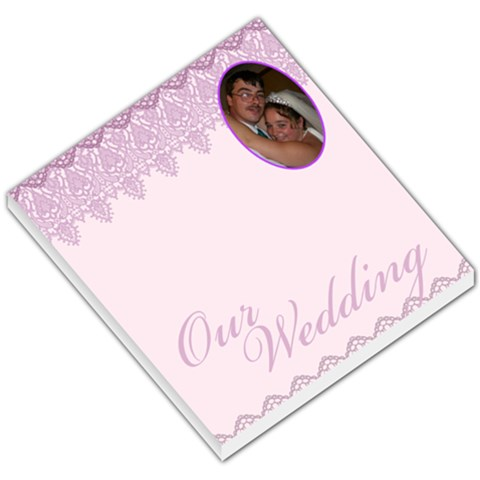 Wedding001 By Kayla Powell   Small Memo Pads   R1r7dji1d402   Www Artscow Com