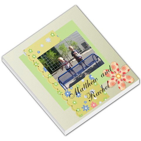 Matthew And Rachel By Nikki Jones   Small Memo Pads   Akcwqhklia86   Www Artscow Com