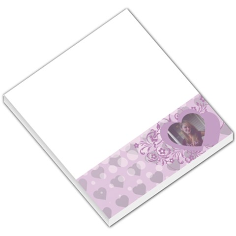 Love By Terry Galloway   Small Memo Pads   H8mkdcuzihla   Www Artscow Com