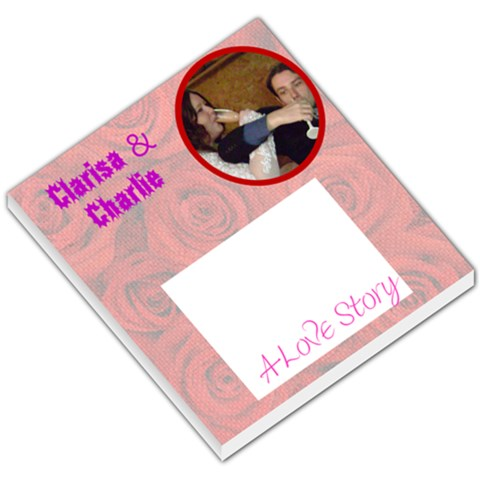 Love007 By Clarisa Stewart   Small Memo Pads   Rgflppvnds0e   Www Artscow Com