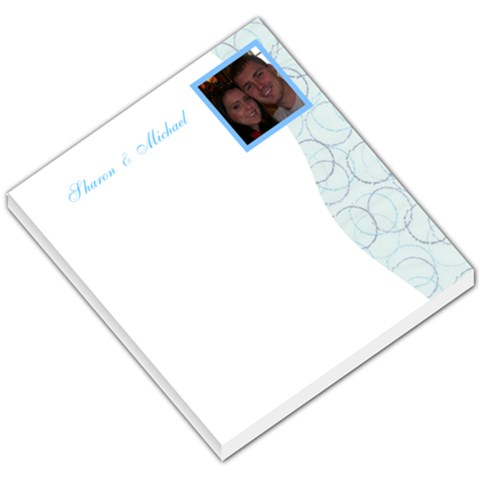 Sharon & Mike By Sharon Cook   Small Memo Pads   8ngzw4h5tpy3   Www Artscow Com