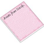 sarah note pad - Small Memo Pads