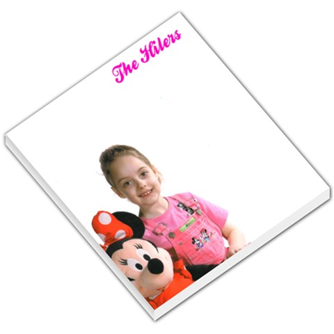 Personalized Memo Pad   So Cute By Elizabeth Turner   Small Memo Pads   M283qc4nmlue   Www Artscow Com