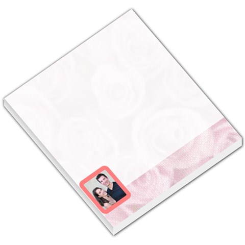 Pink Theme By Jaclyn Beaupre   Small Memo Pads   Bhf1n1butpte   Www Artscow Com