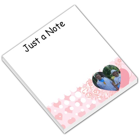 Love002 By Kelly   Small Memo Pads   W2nhni7ss7rz   Www Artscow Com