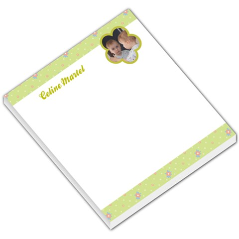 Flower 004 By Celine   Small Memo Pads   M485tc6iqwez   Www Artscow Com