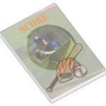 BASEBALL NOTEPAD - Large Memo Pads
