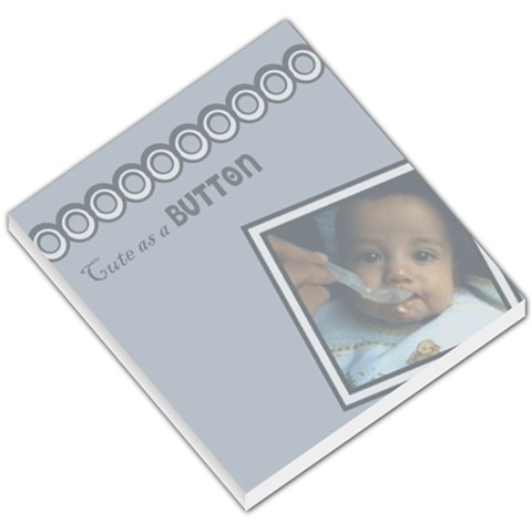 Baby Boy Notepad By Carmensita   Small Memo Pads   La72qklgwb5p   Www Artscow Com