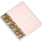 Memo Pad, pink & brown - Small Memo Pads