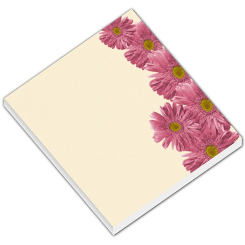 Memo Pad, Pink Daisies By Mikki   Small Memo Pads   Blbfuteojm9j   Www Artscow Com