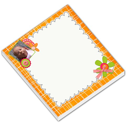 Bright And Fun By Sheena   Small Memo Pads   O8l8v8lj6gsn   Www Artscow Com