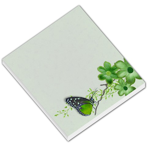 Memo Pad, Butterfly By Mikki   Small Memo Pads   Ah4lppzl7bx5   Www Artscow Com
